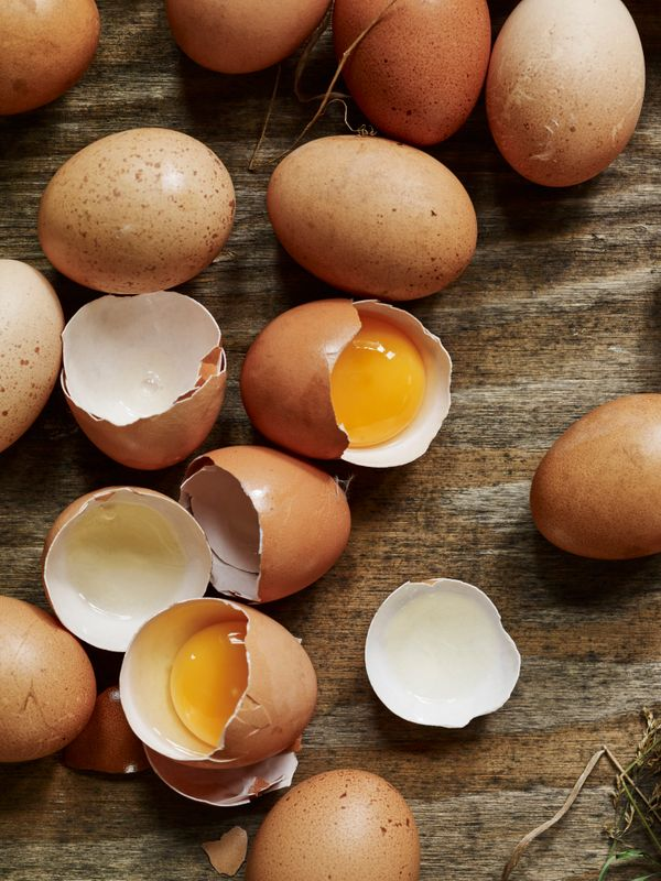 Huevos de gallina libre